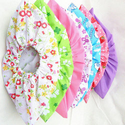 Portable Non-woven Fabric Shoe Covers Solid Color Floral Printed Shoes Clear Boots Covers Foot Cover Thickened Shoe Accessories
