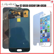 Nuevo TFT LCD para Samsung Galaxy S7 G930 G930F pantalla LCD con montaje de digitalizador con pantalla táctil para Samsung S7 G930 SM G930