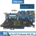 PAILIANG האם מחשב נייד עבור HP Probook 445 G6 Mainboard 2200U DA0X9KMB8C0 tesed DDR3-בלוח אם למחשב נישא מתוך מחשב ומשרד באתר