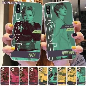 TOPLBPCS kpop NCT 127 Neo Zone чехол для телефона iPhone 8 7 6 6S Plus X 5S SE 2020 XR 11 pro XS MAX image