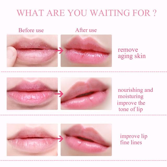 5/8/10Pack Lip Plumper Crystal Collagen Lip Mask Pads Anti Ageing Moisture Essence Gel Patch Lip Masks Lips Care Enhancer Pads 5