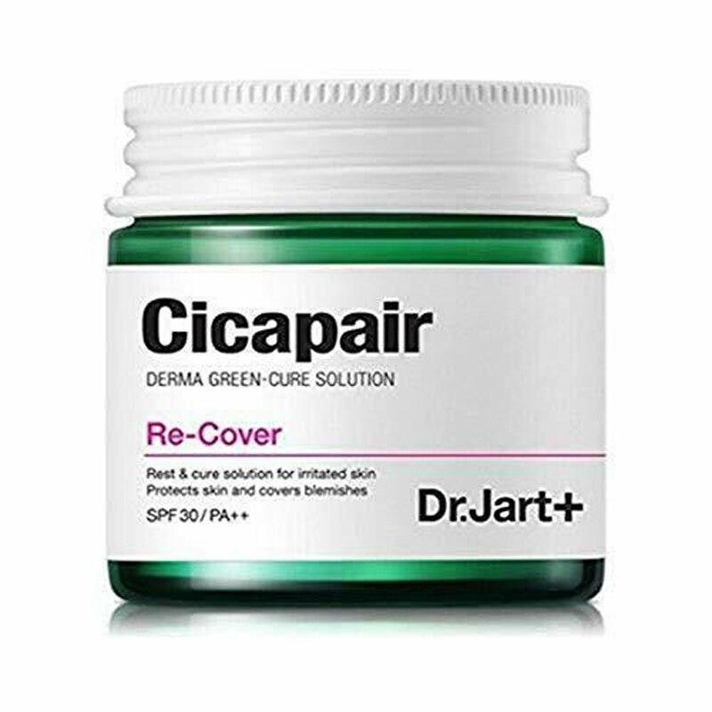 Dr.Jart   Cicapair Re-Cover 50ml Face Cream Skin Color Correction Moisturizing Cream Facial Serum Skin Inflammation Scar Healing