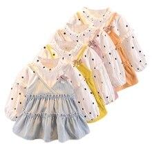 2019 Fashion Baby Dress puff Sleeve Infant Dress