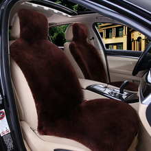 Car-Seat-Covers Granta Priora Size-Protect Universal Cushion1pcs Australian Fur Sheepskin