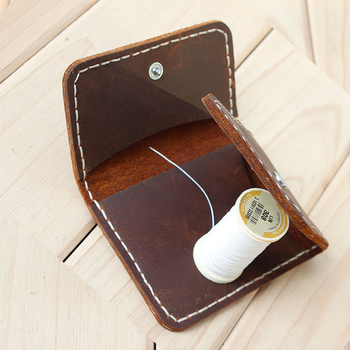 Handmade Genuine Leather Men Wallets Vintage Dollar Clip Wallets Creative Design Cow Leather Billfold Money Holder фото