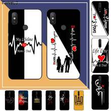 Fhnblj I Love Mama En Papa Soft Phone Case Cover Voor Redmi Note 9 4 5 6 7 5a 8 9 Pro Max 4X 5A 8T(China)