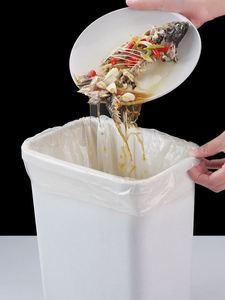 Image 3 - תירס מתכלה ביתי אשפה שקיות מסווג חד פעמי אסלת ניקוי מטבח אשפה שקיות פלסטיק עבה שקיות לשבור