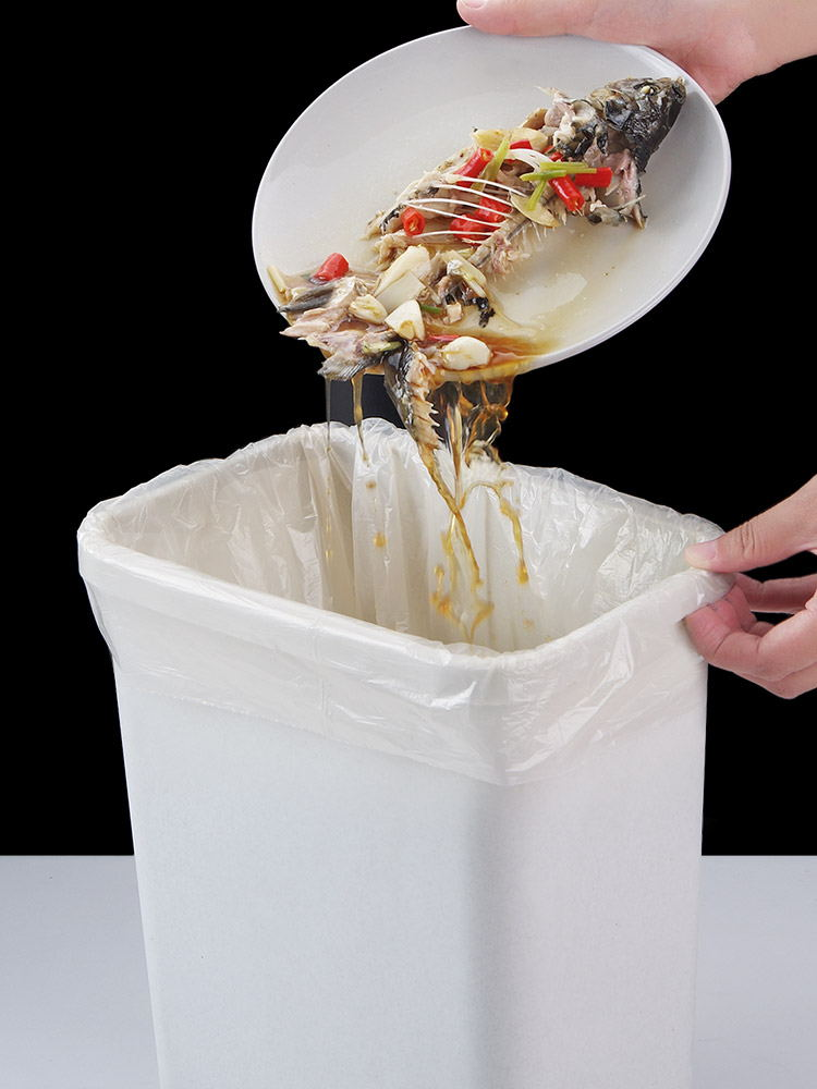 Garbage-Bags Biodegradable Corn Thicker Kitchen Plastic Disposable Toilet-Cleaning Household