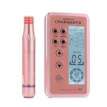 1pcs New Design Digital Charmant 2 Permanent Makeup Machine Kits for Eyebrow Lips Rotary Swiss Microblading MTS Pen Set