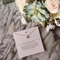 Ожерелье с подвеской для подружки невесты, модное ожерелье из розового хрусталя и золота, свадебная бижутерия для женщин, хороший подарок д...