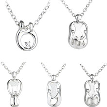 Mother Son Daughter Mom Baby Child Family Love Pendant Necklace Charm Chain Mommy Kids Mother's Day Gifts Birthday Party Jewelry(China)