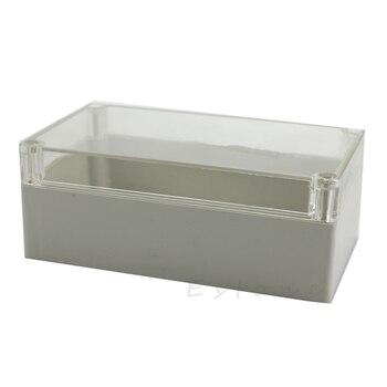2020 nueva caja de proyecto impermeable electrónica transparente carcasa de plástico 158x90x60mm