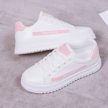 Quality Casual Loafers Women Platform Shoes Low-cut Lace-up Fashion Sneakers Woman Flats Brand Classics Ladies Inside Increasing woman sneakers metallic color woman shoes front lace up woman casual shoes low top rivets embellished platform woman flats brand