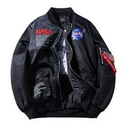 Демисезонные мужские куртки-бомберы, повседневная мужская верхняя одежда, ветровка со стоячим воротником, куртка с воротником, мужские бей...