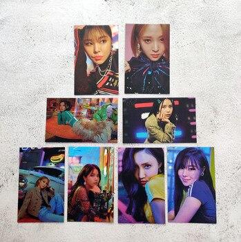 8pcs/set MAMAMOO New Album TRAVEL Photocard