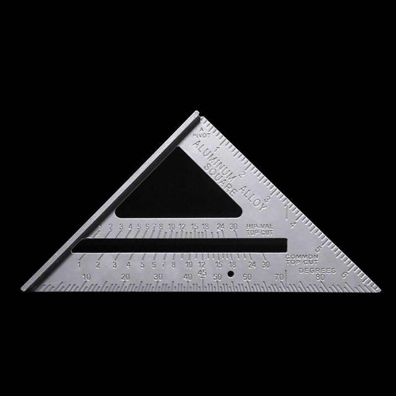 Manopla de Protractor cuadrado de velocidad de aleación de aluminio con regla cuadrada de 7