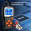 KONNWEI KW650 Battery Tester 12V 6V Car Motorcycle Battery System Analyzer 2000CCA Charging Cranking Test Tools for the Car promo