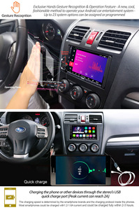 Image 5 - Мультимедийный плеер ATOTO A6, стерео проигрыватель под управлением Android, с GPS, Bluetooth, Wi Fi, USB, типоразмер 2 Din