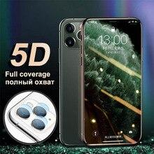 Cường Lực Bảo Vệ Kính Trên Cho iPhone 7 11 X XR Tấm Bảo Vệ Màn Hình 8 6 6 Plus 6S 6 7 Kính cho Iphone 11 Pro Max XS Kính Camera