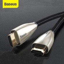Câble HDMI Baseus 4K HDMI vers HDMI câble pour Apple TV répartiteur de commutateur 60Hz HDMI 2.0 câble pour TV Box Audio vidéo cordon HDMI