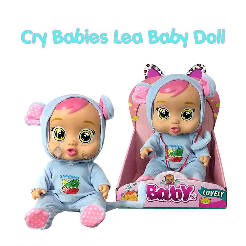 30cm Tear Up Baby Dolls  3D Crying Baby Toy Drinking Water Cute Speaking Magic Tearing Doll Toys For Children Surprise Gifts