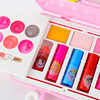 girls Princess  Cosmetics Make up set disney  Cartoon frozen anna elsa polish Beauty makeup box  baby  kids Christmas present flash sale