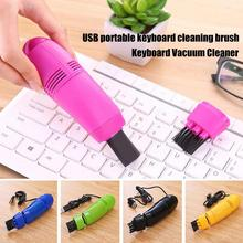 Mini Vacuum Keyboard Office Computer Cleaners Keyboard Brush Clean Computer Tools Vacuum Cleaner USB Dust Cleaner Portable