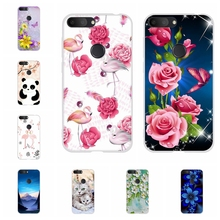 For Alcatel 1S 2019 Case Ultra-thin Soft TPU Silicone 1s Cover Butterflies Patterned alcatel Bumper Coque