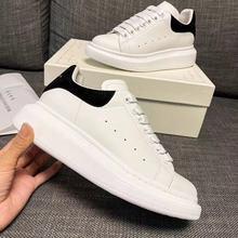 White Shoes Sneakers Trainers Platform Spring-Designer Casual Women Couples Female Feminino