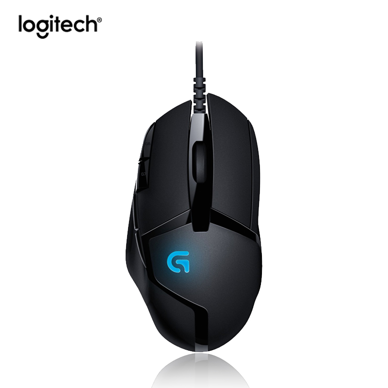 Logitech G402 Hyperion Fury FPS Gaming Mouse with 8 Programmable Buttons with High Speed Fusion Engine image