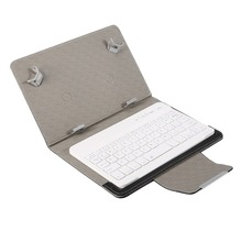 PU Leather Bluetooth Keyboard Case Stand Cover +OTG+pen For Pad Universal 7 8 inch 9 10 inch Tablet for IOS Android Windows kefo universal cover for prestigio multipad grace 3118 pmt3118 3318 pmt3318 3g 8 inch tablet zipper nylon tablet covers case