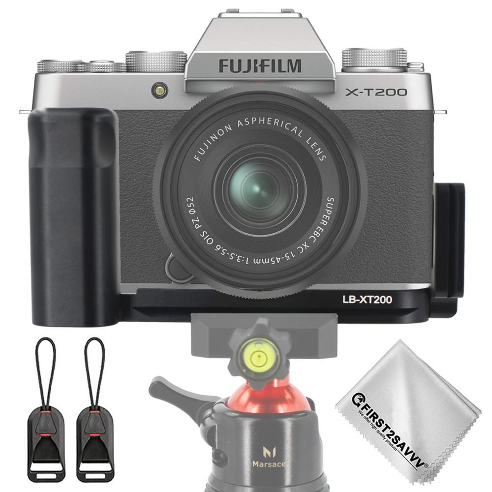 Tripod-Head-Holder Hand-Grip Fujifilm XT200 Camera for L-Plate-Bracket Arca LB Swiss