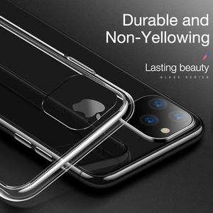 Image 4 - For iPhone 11 12 Case Slim Clear Soft TPU Cover Support Wireless Charging for iPhone 12 11 Pro Max 5.8in 6.1in 6.5in X XR XS MAX