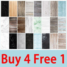Marble Wood Grain Backdrop Paper 57*87cm Background for Photo Studio Shoot Photocall Photography Props Backdrops[Buy 4 Free 1](China)