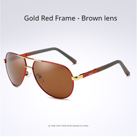 Gold Red- Brown