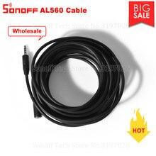 Atacado extensão sonoff al560 cabo de alta precisão compatiable com sonoff am2301/si7021/ds18b20 temperatura/sensores de umidade