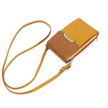 Kolorowa torba na telefon komórkowy torebki moda codzienna wizytownik mała letnia wielofunkcyjna torba na ramię dla kobiet torebki