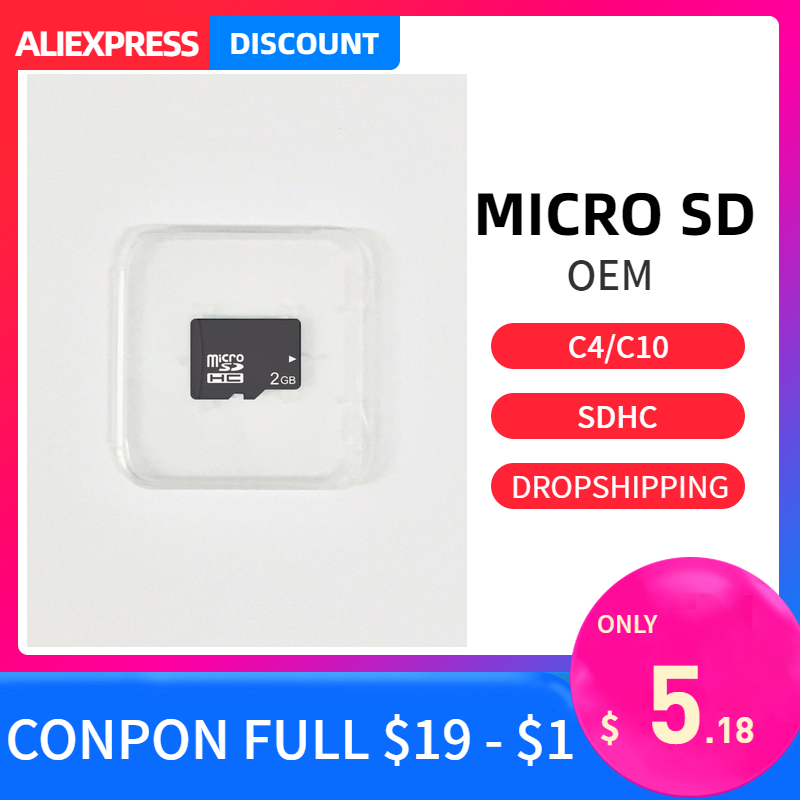Micro <font><b>sd</b></font> karte <font><b>2gb</b></font> compact flash class4 High Speed Speicher tf karte memory stick micro cartao de speicher laptop smartphone tablet image