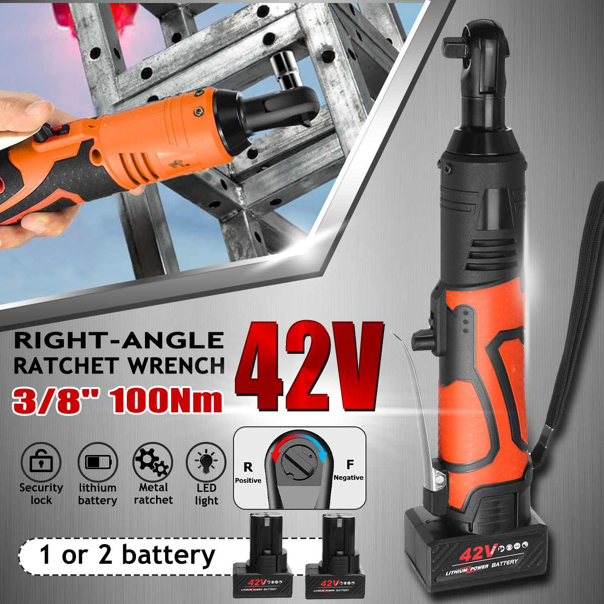 42V Electric Wrench 3/8