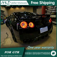 Tail Lamp For Car Nissan GT R 2009 2017 GTR Tail Lights Led Fog Lights DRL Daytime Running Lights Tuning Car Accessories