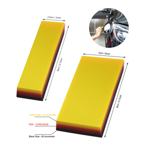 Image 5 - EHDIS 2 in 1 Vinyl Wrapping Rubber Squeegee Soft Scraper Wrap Car Window Tints Film Sticker Remover Auto Wash Cleaning Hand Tool
