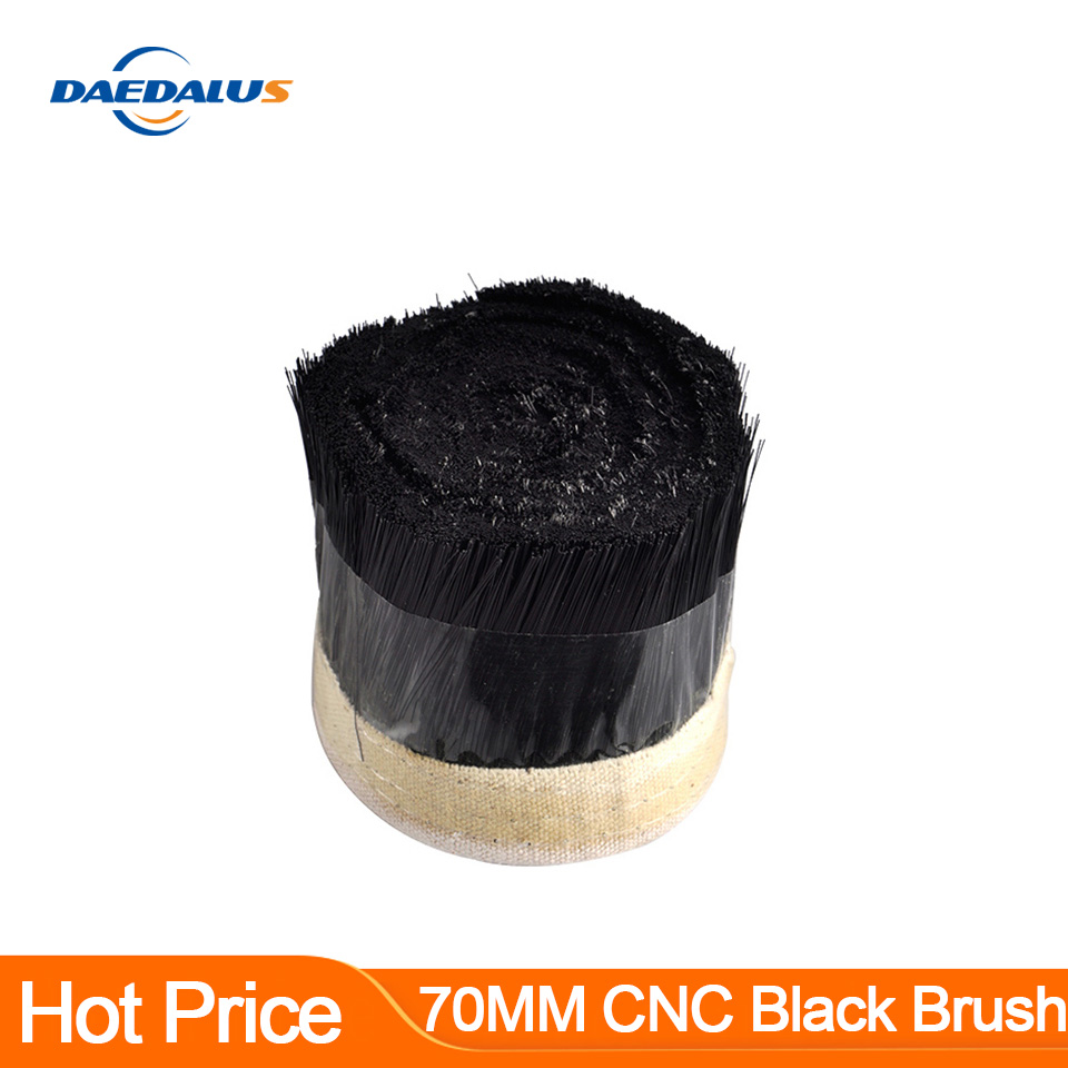1 X 70MM CNC Brush Vacuum Cleaner 100MM Dust Cover Colletor Woodworking Tools For CNC Spindle Motor Engraving Milling Machine