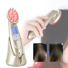 Obecilc laser comb electric hair brushes rf ems red therapy