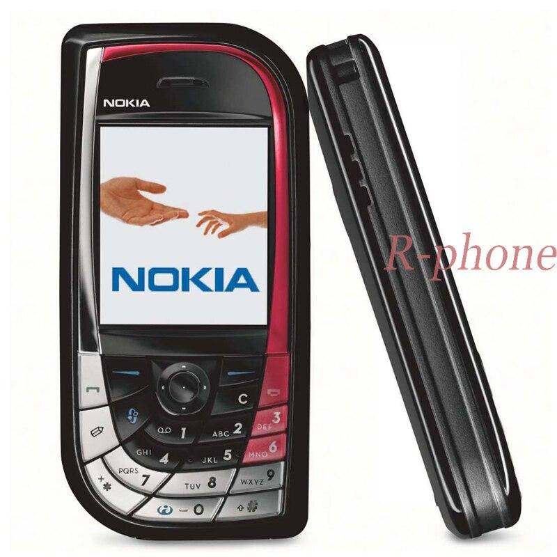 Chaud!!! 7610 Original débloqué remis à neuf Nokia 7610 téléphone portable GSM Tri-bande caméra Bluetooth Smartphone