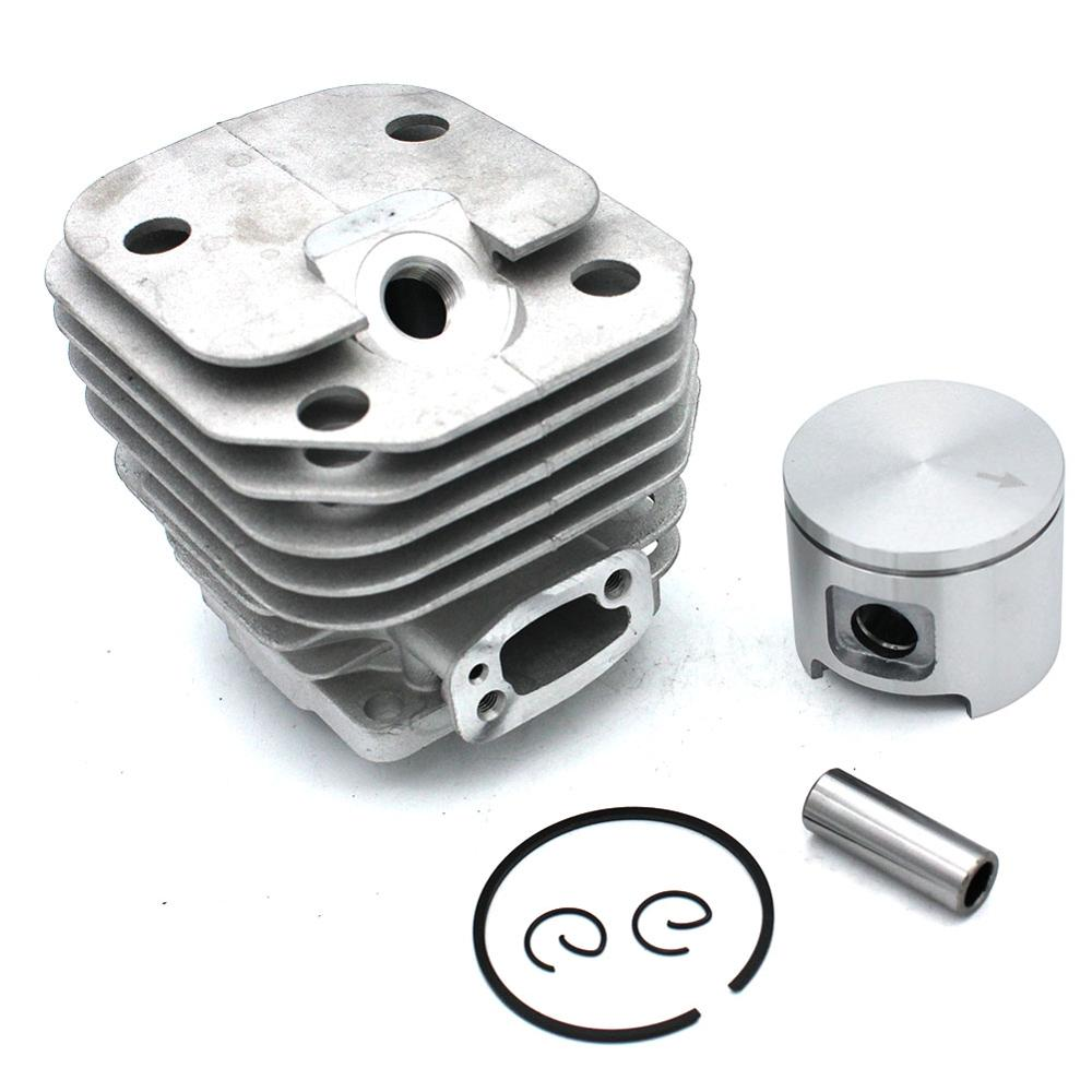 48mm Cylinder Piston Kit For Husqvarna 61 Chainsaw Parts # 503532071 501533571 544222802