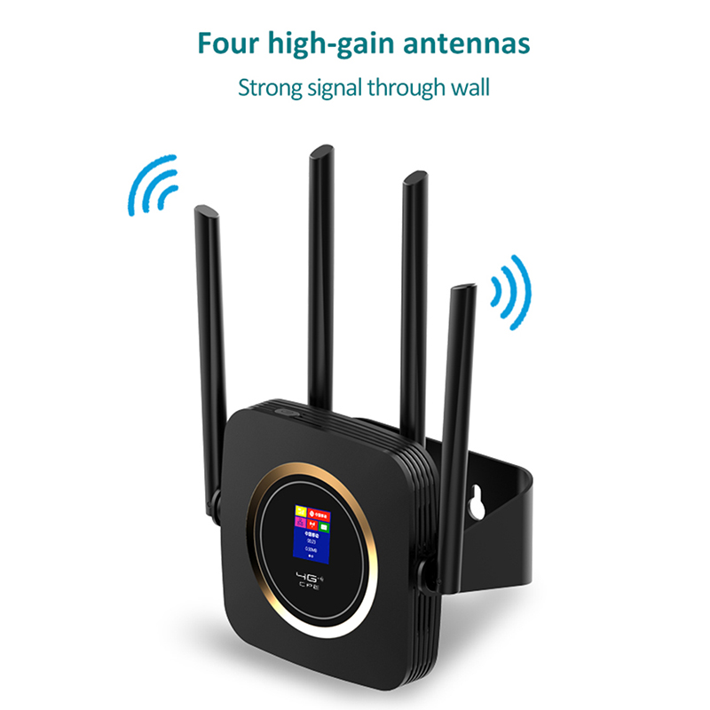 TIANJIE CPE904 router 4g sim kaart 4G wifi router hotspot 4G LTE modem 3000mah batterij pocket wifi modem CPE 4g wifi CPE router - 2