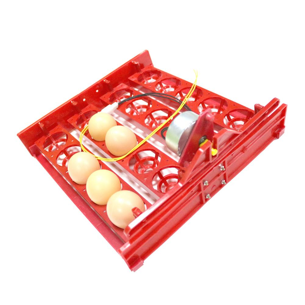 20 Egg Incubator Turn Eggs Tray Chicken Bird Duck Goose Pigeon Quail Automatic Incubator Farm Animal Poultry Incubator Equipment