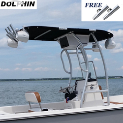 ¡Promoción! Delfín Pro2, bote T superior/consola central, barco resistente, T-TOP