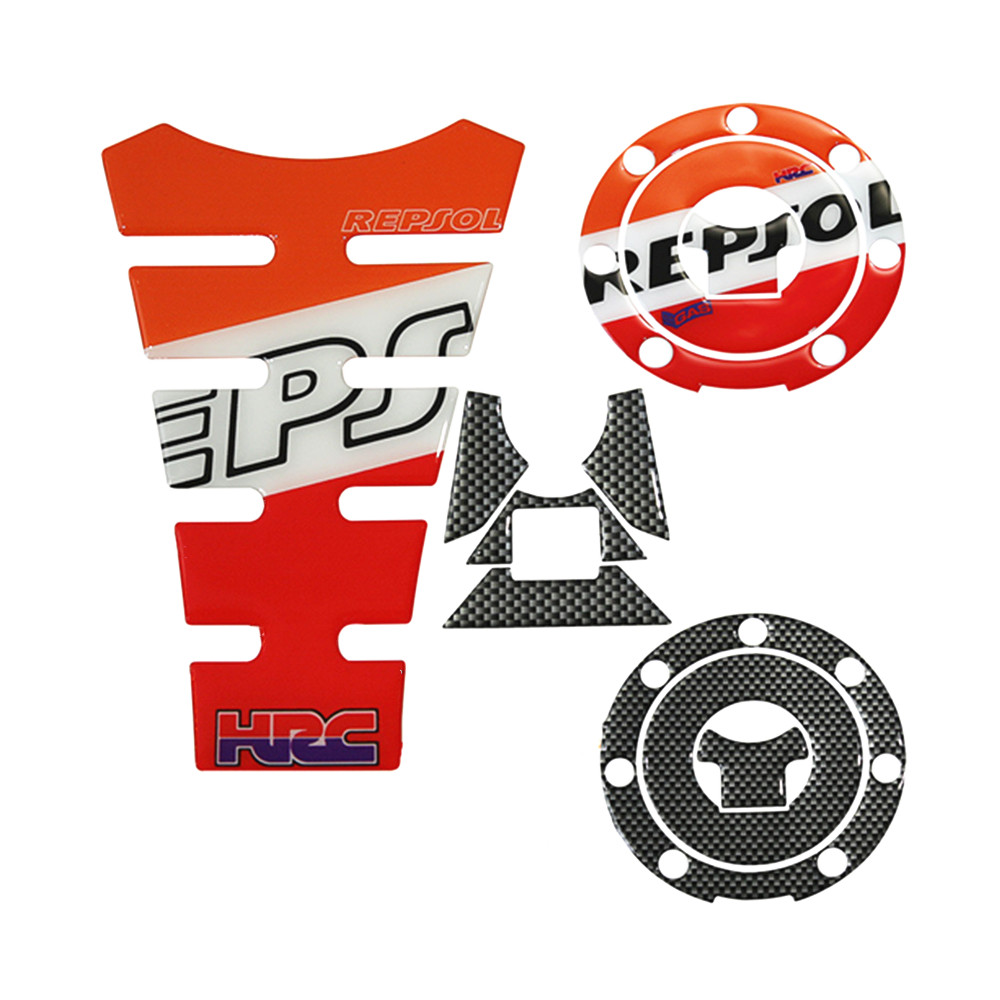 Honda HRC Motorcycle Fairing belly pan or tool box sticker