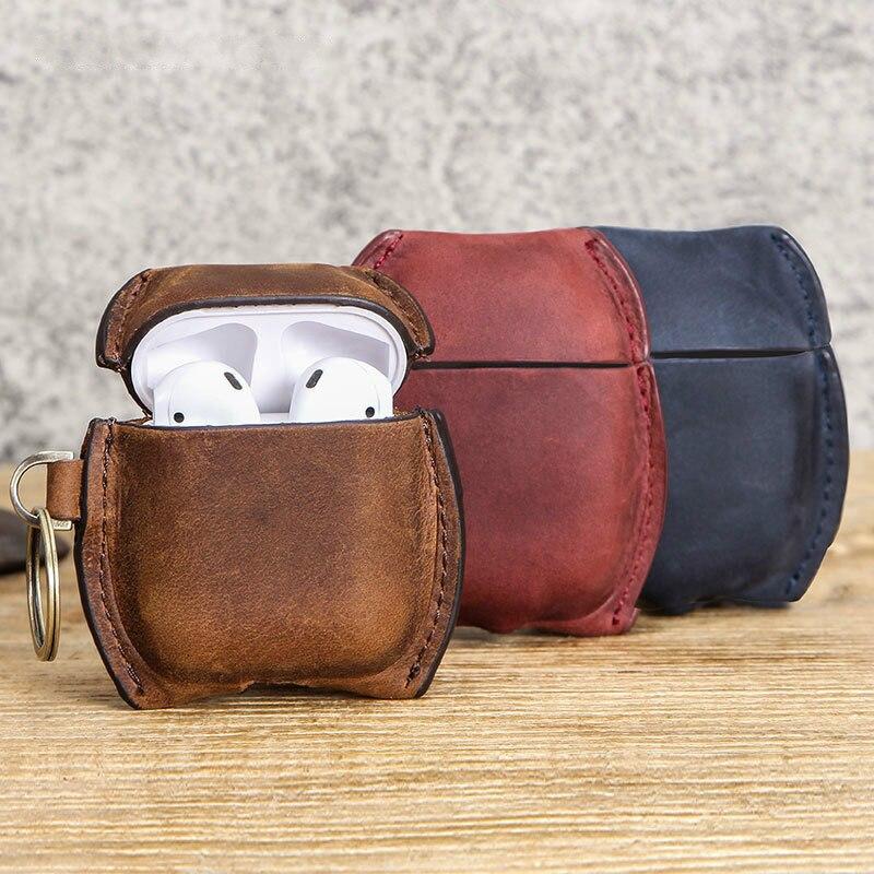 Купить чехол для airpods pro кожаный чехол аксессуары наушников защита